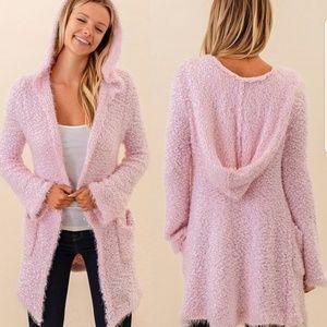 Sweaters - Michelle fuzzy popcorn cardigan